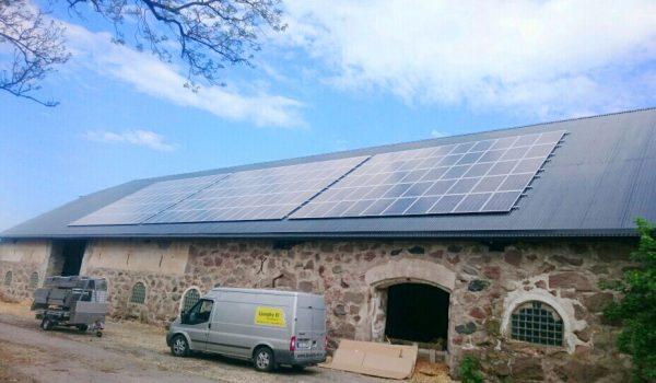 Susegården Getinge 43kw med SolarEdge
