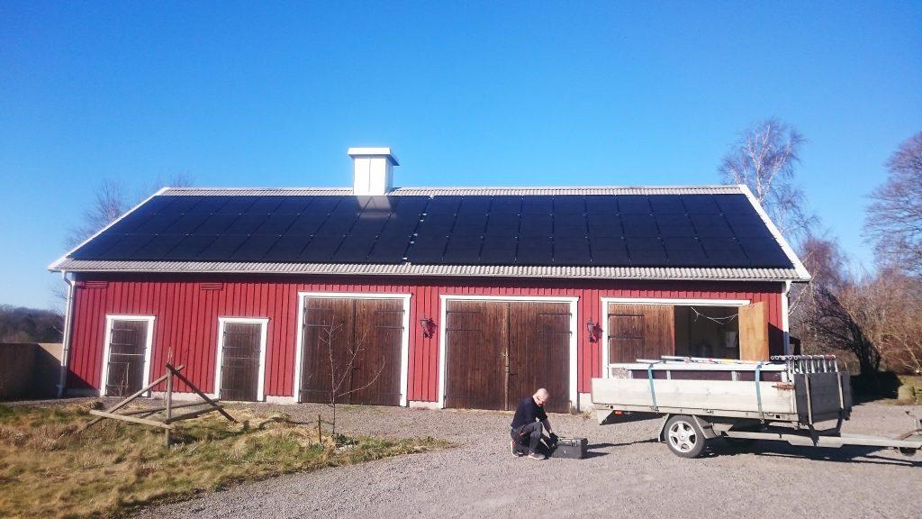 18kw med Solaredge