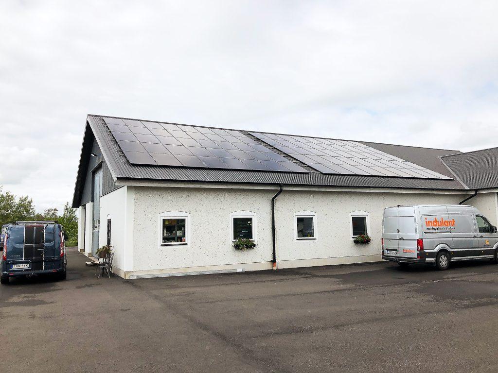 27 kw Solaredge i Stafsinge