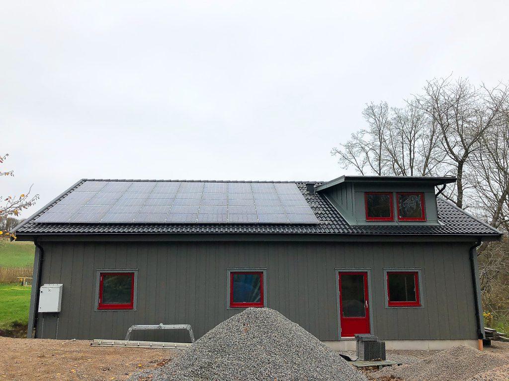11 kw med Solaredge i Vessigebro