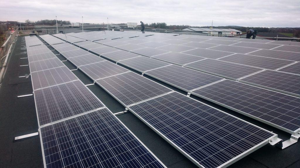 43 kw med SolarEdge